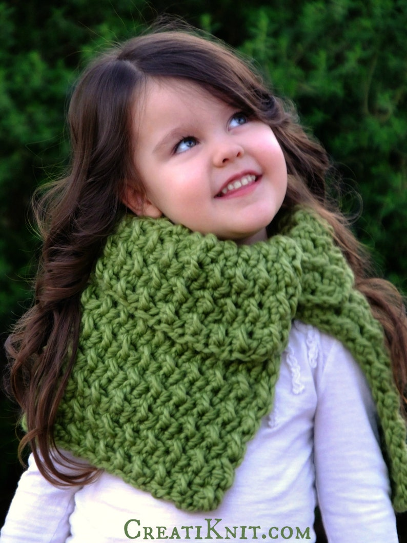 Crochet Pattern - The Woodland Nymph Shawl (Baby, Toddler, Child, Adult  sizes)