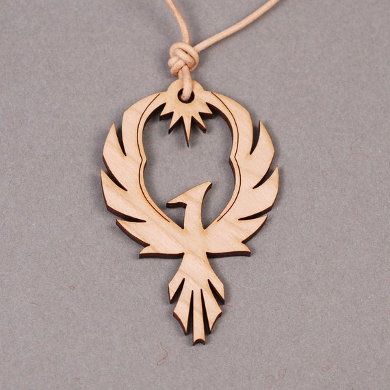 Phoenix pendant phoenix necklace firebird necklace aloadofball Gallery