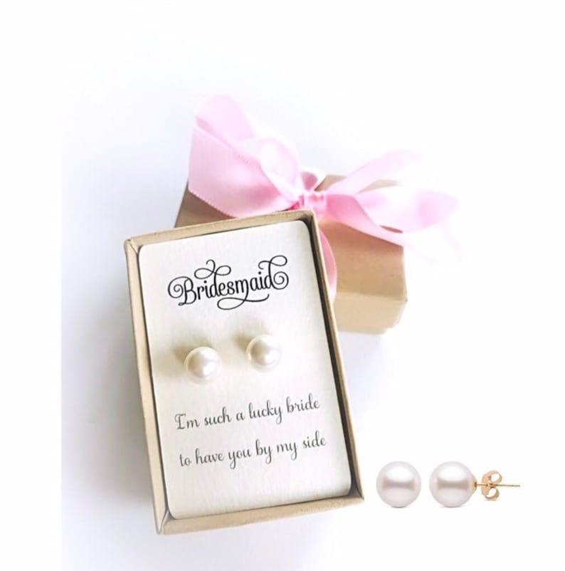 Bridesmaid jewelry gift image 0
