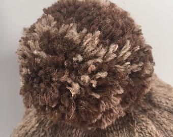 Ja-Makin-Ewe-Crazy hatbeanie 100/% natural Montadale and Romeldale CVM wool handmade