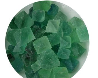 Fluorite green octahedral,  Metaphysical Crafts. Jewelry Making, 1 lb