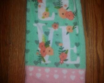 Love Hanging Kitchen Towel
