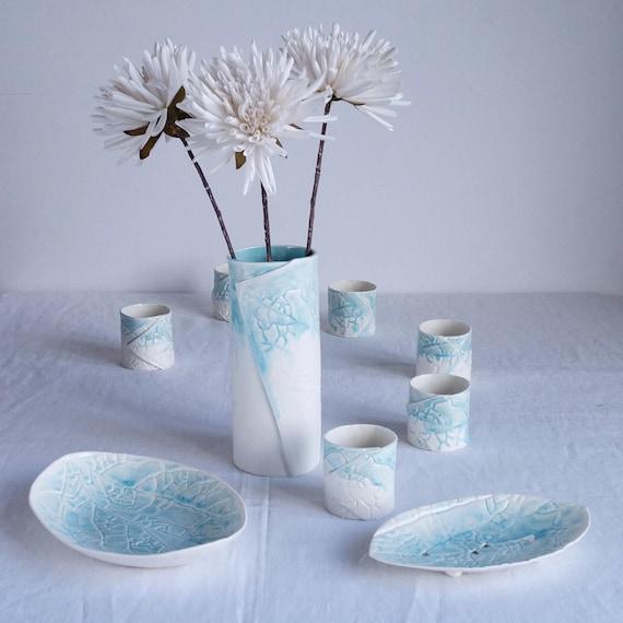 Wholesale bundle LEAF and POPPY ceramics