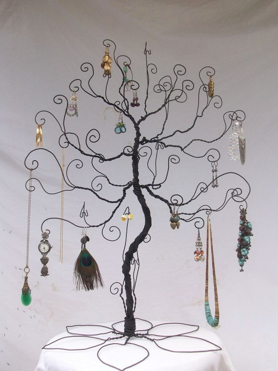 Jewelry Stand Tree Large Wire Display PRE ORDER Etsy Interesting Large Jewelry Tree Display Stand