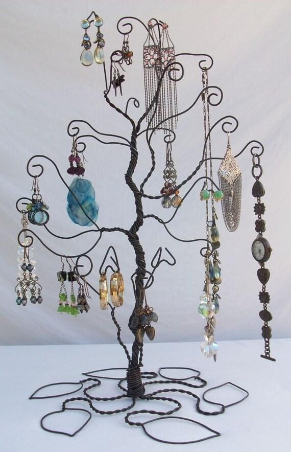 Draht Schmuck Baum stehen Ohrring Display Vorbestellung | Etsy