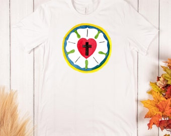 Luther's Rose - Comfy T-shirt