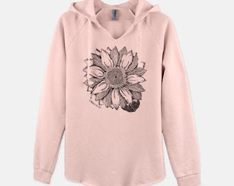 Sunflower 1 Peter 1:24-25 - Hooded sweatshirt