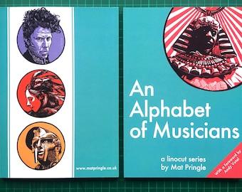 An Alphabet of Musicians - A Linocut Series book