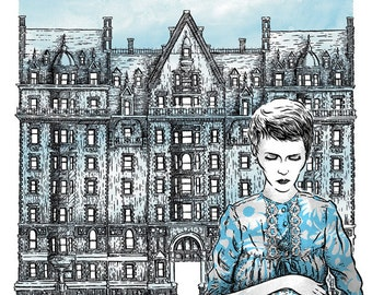 Rosemary's Baby limited edition screen print