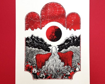 Daughter of the Sun limited edition screen print