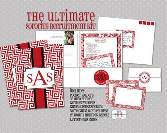 sorority recruitment etsy