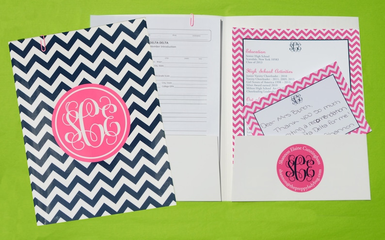 Sorority Recruitment Recommendation Package  The Original image 0