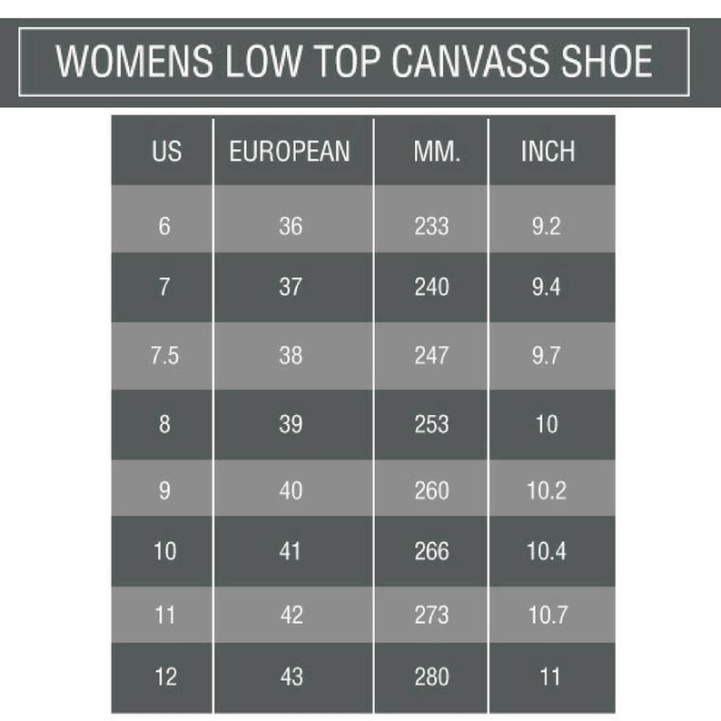 Nautical Crew Women/'s Black and White Low Top Canvas Sneakers