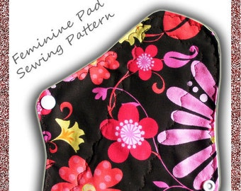 Cloth Pad Pattern - INSTANT DOWNLOAD