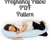 Pregnancy Pillow Pattern - INSTANT Download