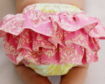 Ruffled Diaper Cover Sewing Pattern.