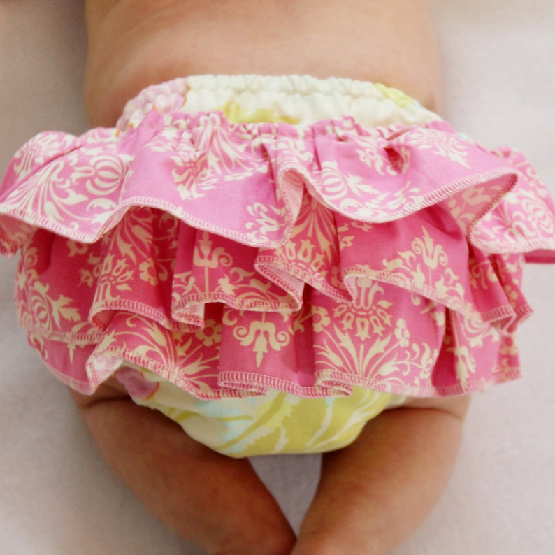 How To Make a baby Bloomer with Ruffles