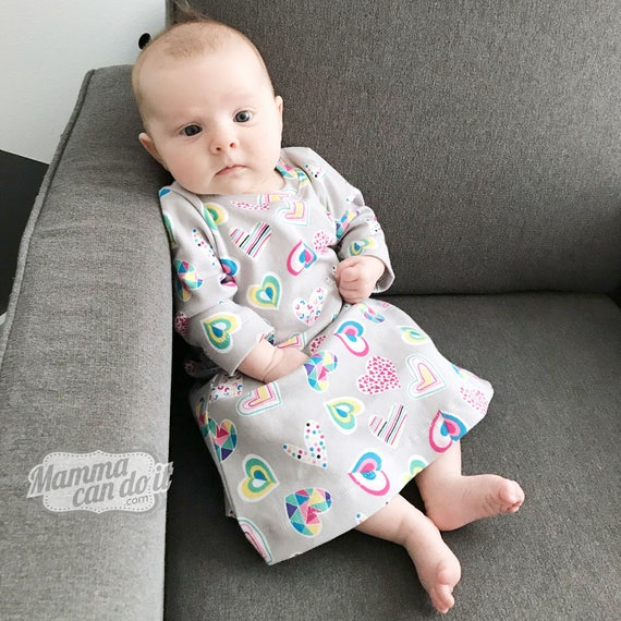 98d20127773e Baby Sweet Dreams Nightgown Pattern Sizes NB-36 months