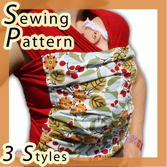 Baby Wrap Sling Sewing Pattern Etsy
