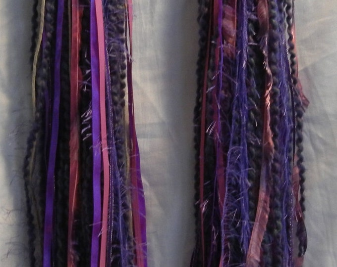 Turbo's Fairy Wigs -  Purp N Punk (TYDF-006) Made to Order