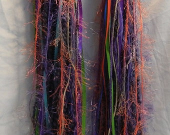 Turbo's Fairy Wigs -  Purple Sunburst (TYDF-008) Made to Order - Great in a Black Light
