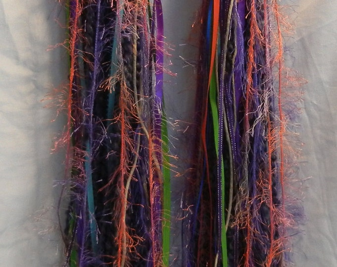 Turbo's Fairy Wigs -  Purple Sunburst (TYDF-008) Made to Order - Great in a Black Light