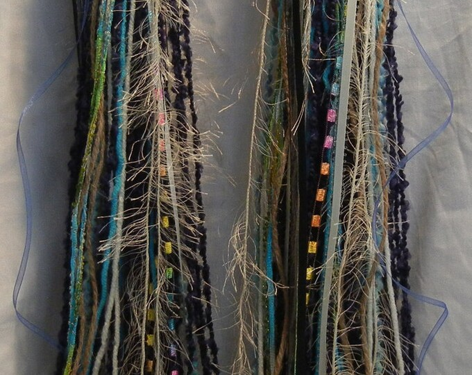 Turbo's Fairy Wigs -  Blue, Blue, Blue (TYDF-010) Made to Order