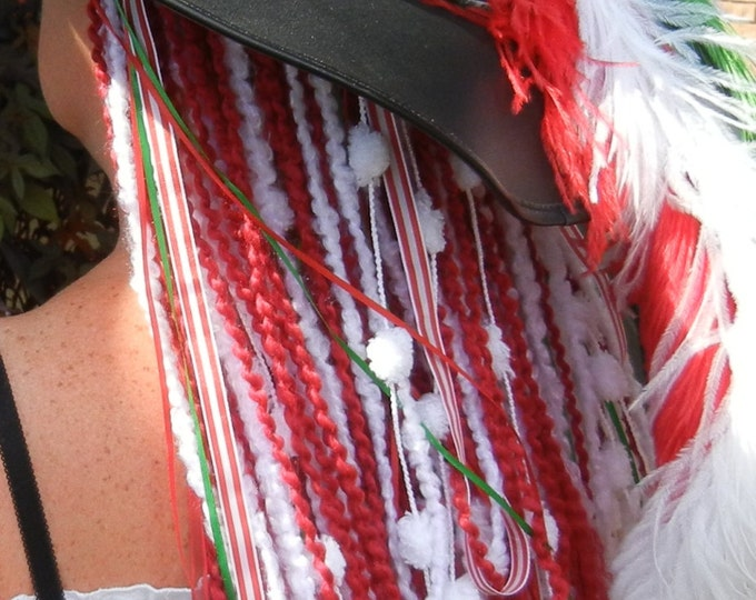 Turbo's Fairy Wigs -  Santa's Colors (TYDF-016) Made to Order