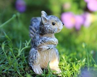 "Hammy the Squirrel 1.00"" Tall"