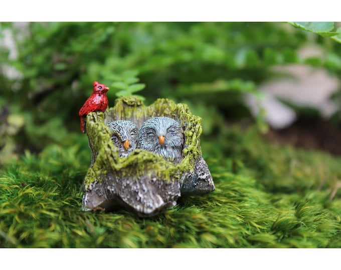 Owl Love You Forever 1.25″ Tall for the Fairy Garden
