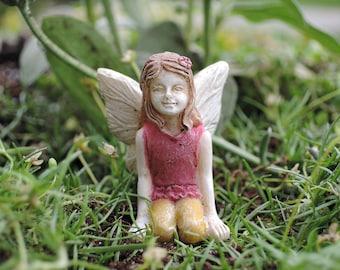 "Itty Bitty Belle Fairy (1.5"" Tall) for the Fairy Garden"