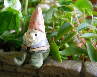 """Mini Gnome (1.5"""" Tall) for the Fairy Garden (Chair and Accessories not included)"""