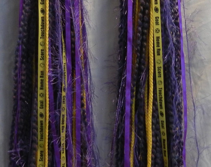 Turbo's Fairy Wigs -  Is That Purple and Gold (TYDF-007) Made to Order