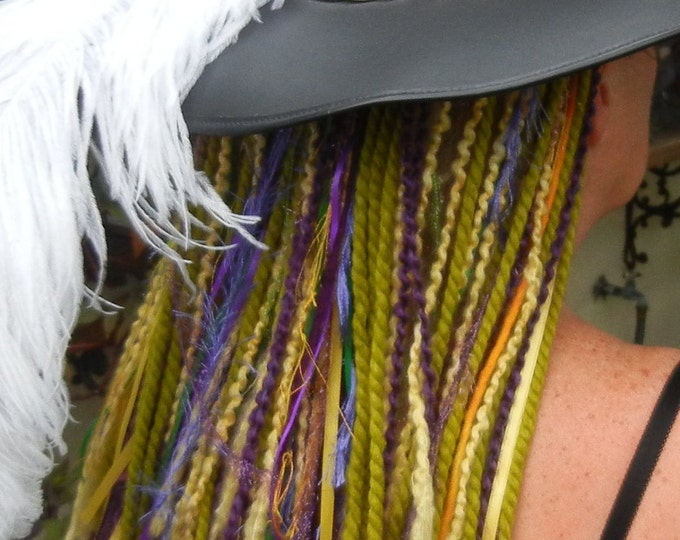 Turbo's Fairy Wigs -  Mardi Gras Anyone (TYDF-011) Made to Order