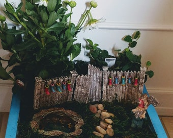 Mallard Duck Pond Fairy Garden Kit - (Plants and Soil not included)