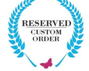 CUSTOM ORDER - Reserved for Alyssa - 18 Boards custom design