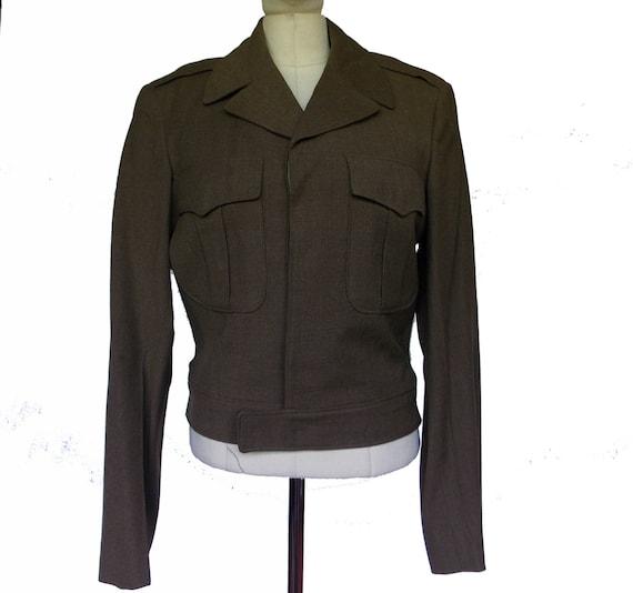 Vintage 1950's Mens Army Jacket
