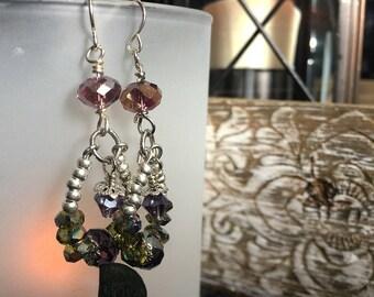 Lavender Sunset Earrings