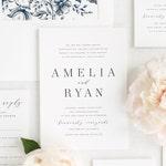Amelia Wedding Invitation - Deposit