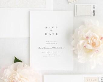 Zarah Save the Date - Deposit