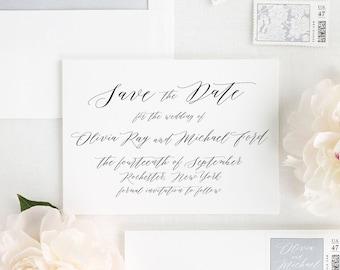 Olivia Save the Date - Deposit