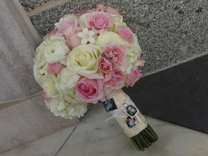 Bridal Bouquet Charm Wedding Bouquet Charm Bridal Charm Photo Memory Charm