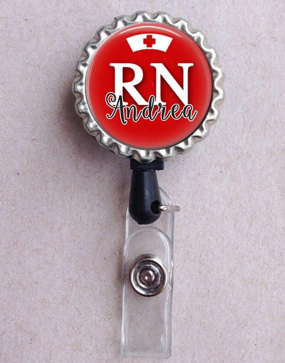 Nurse Badge Reel, Retractable ID Badge, Custom Badge Holder, Nurse Badge  Reel, Nurse Gift, ID Clip, Medical Badge Reel, Gift for Nurses