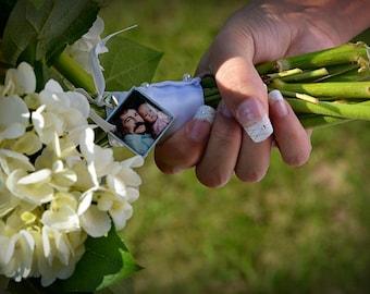 Memorial Charm, Bouquet Charm, Bridal Bouquet, Custom Photo Charm, Personalized Wedding Keepsake