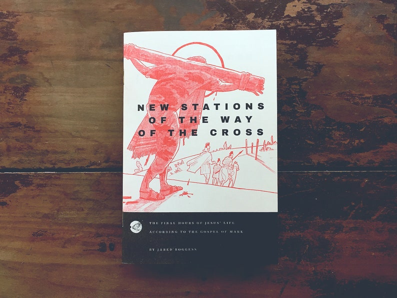 New Stations of the Cross ltd ed Risograph book image 0