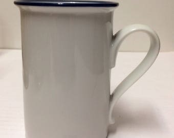 Dansk Epoch Blue 70s Niels Refsgaard Style Mug Made in Japan