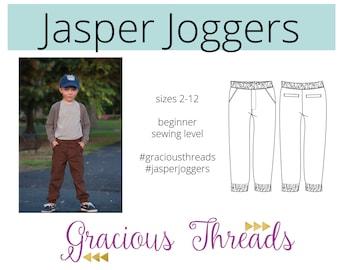 Jasper Joggers PDF Sewing Pattern 2T-12
