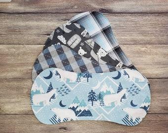 Burp Cloth Boy Set, Burp Rage, Burp Cloth, Baby Shower Gift, Baby Gift, Polar Bear Nursery, Burp Clothes, Flannel Burp Cloths, Newborn