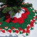 Zinnea reviewed Crochet Mini Christmas Tree Skirt