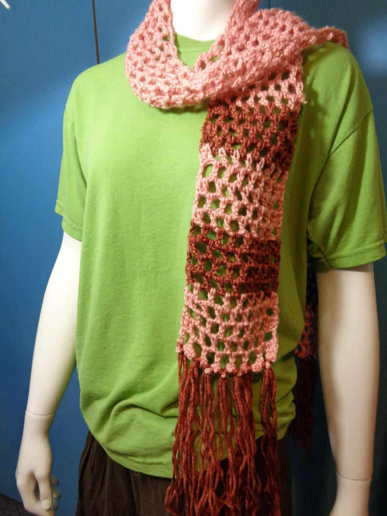 Mary Poppins Inspired Crochet Scarf Lightweight Scarf image 0